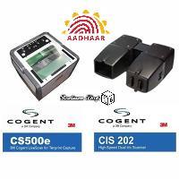 3M Cogent CS500e CIS202 Biometric Scanner Device for AADHAAR