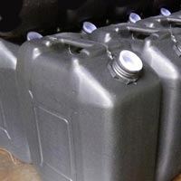 Plastic Black Cans
