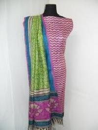 Pure Silk Dress Material