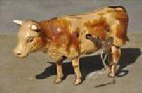 Cow Tin Toy