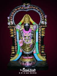 Black Marble Balaji Statues