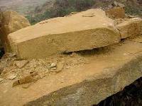 Yellow Sandstone Blocks