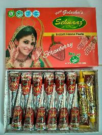 Golecha Sehnaaz Instant Henna Paste Cone (strawberry Color)