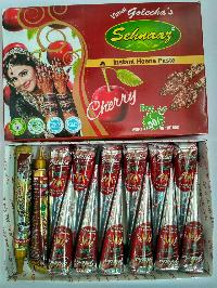 Golecha Sehnaaz Instant Henna Paste Cone (cherry Color)