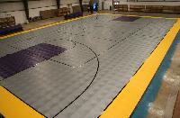 Basketball Courts Rubber Floorings