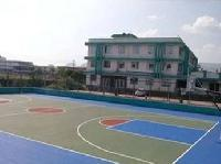 Synthetic Basketball Court Floorings
