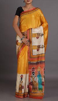 Handloom Kosa Silk Saree