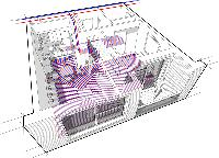 central building heating system