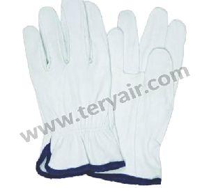 Calf Skin Working Gloves