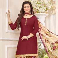 Glace Cotton Salwar Suits