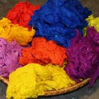 Solid Dyed Fibre