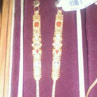 Gold Earrings Chains