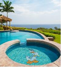 Glass Tiles - Kids Pool Murals