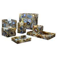 Agate Bath Accessories