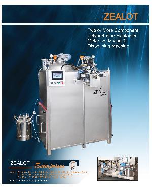 Polyurethane Elastomer Metering Mixing And Dispensing Machine