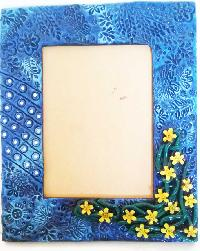 handicraft designing photo frame
