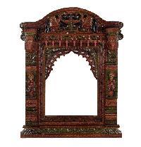 Wooden Grill Jharokha