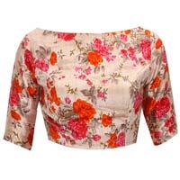 New Latest Multi Color Floral Printed Designer Blouse