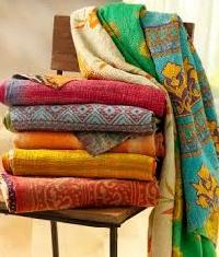 Kantha Quilts and Blankets