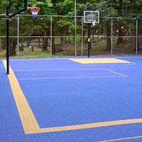 Basketball Court Construction