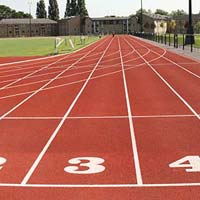 Artificial Running Track