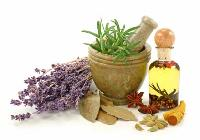 essential herbal oils
