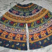 Ladies Rajasthani Print Divider Skirt