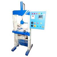 Hydraulic Single Die Paper Plate Making Machine With Panel