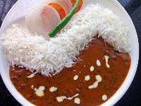Dal Makhani And Rice
