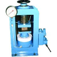 2 Pillar Manually Hand Operated Compression Testing Equipment