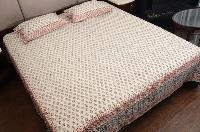 Traditional Hand Block Bed Sheets