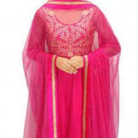 Embroidered Anarkali Suits