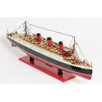 Queen Mary I Model Ship