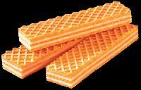 Orange Cream Wafer Biscuit