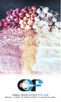 Dehydrated White, Red And Pink Onion Products