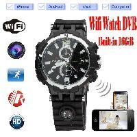 Spy Wi-fi Watch Camera Hd Night Vision