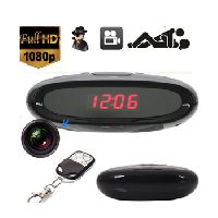 Hidden Camera clock remote motion detection mini