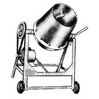 Motorised Concrete Mixer