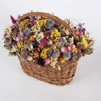 Dried Flower Baskets
