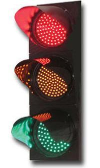 Led Blinker Solar Traffic Light