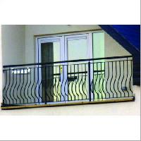 Ss balcony grill manufacturers suppliers exporters in for Balcony grills enclosure designs in india