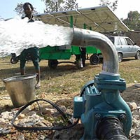 Solar Mobile Water Pumping Systems