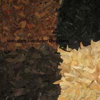 Rectangular Leather Shaggy Rugs