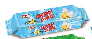 Vanilla Creamy Choice Biscuits