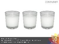 Shot Glass Round Candle (t)