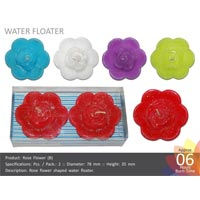 Water Floating Candle Rose-b