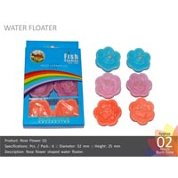 Water Floating Candle Rose-s