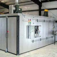Gas Fired Powder Baking Oven