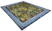 Hand knotted modern rugs