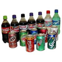 Mirinda, Sprite, Coke, Fanta, Lipton Ice Tea, Pepsi, Cola 330ml Can
